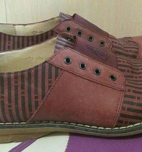 Туфли, натуральная кожа, внутри и снаружи