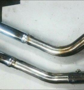 Трубы выхлопные глушители Yamaha DragStar XVS 400