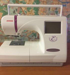 Вышивальная машина Janome