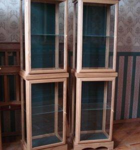 Шкаф витрина для коллекций