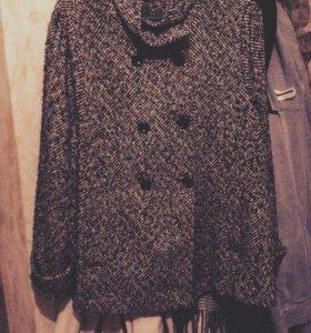 Тренч пальто короткое пальто