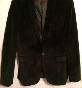 Пиджак бархатный