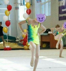 Купальник гимнастка.6 шт.команда