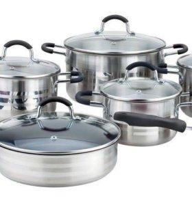 Новый набор посуды winner-1004 из 12 предметов