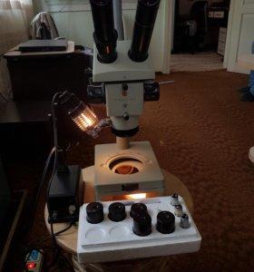 Микроскоп МБС 10 СССР