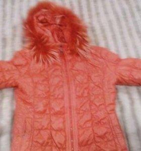Куртка зимняя в отличном состоянии