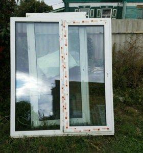 Б/у пластиковые окна