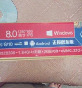 Планшет CHUWI VI8 plus на windows 10