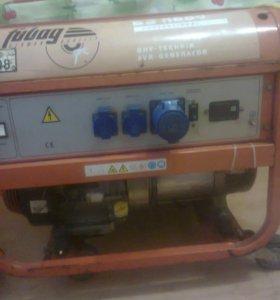 Бензо-Генератор Фубак 6600 Германия.