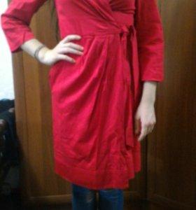 Красное платье.