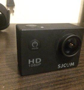 Продам экшн камеру sj 4000.