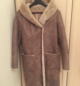 Пальто мех искусственный