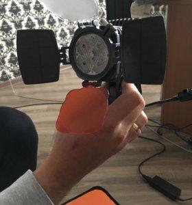 Светильник на камерный свет SONY