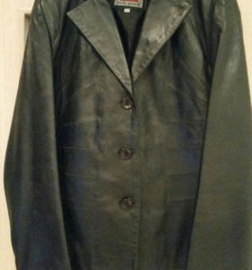 Кожаный пиджак (куртка)