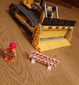 Lego City бульдозер 7685