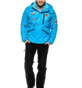 Горнолыжная куртка Baon с вышивкой и шевронами