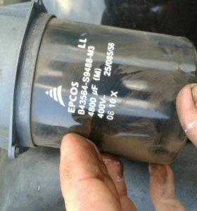Конденсатор 4800 МКФ/400 В