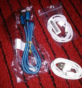 USB кабель для iPhone 5/5s/6/6s/6s+/7