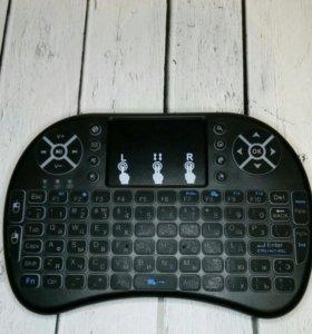 Беспроводная клавиатура для техники с подсветкой