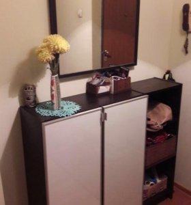 Шкаф-комод в прихожую с зеркалом