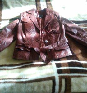 Кожаная куртка!