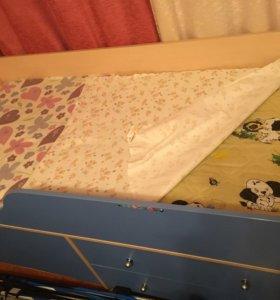 Кровать мини-чердак+матрас