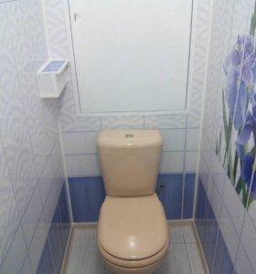 Ремонт ванных комнат и санузлов панелями пвх