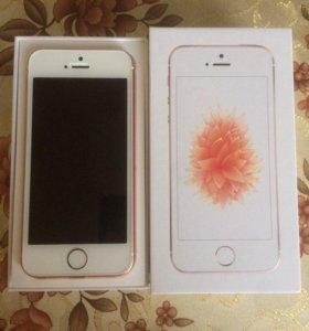 iPhone SE 32gb (Розовое золото)