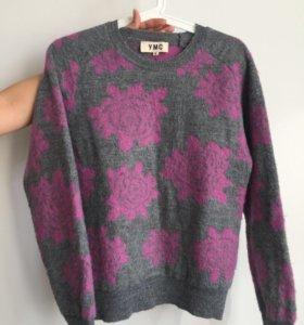 Шерстяной свитер YMC