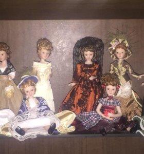"Фарфоровые куклы""Дамы эпохи"""