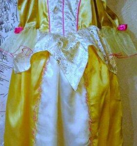 Карнавальное платье Бэлль. Disney