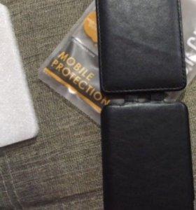 Чехол новый кож для Xiaomi Redmi Note 4