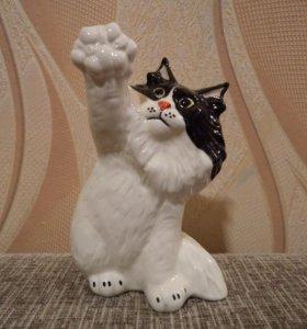 Статуэтка сибирский кот кошка