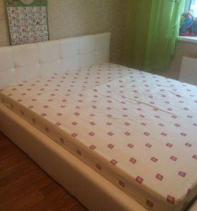 Кровать из ЭКО кожи