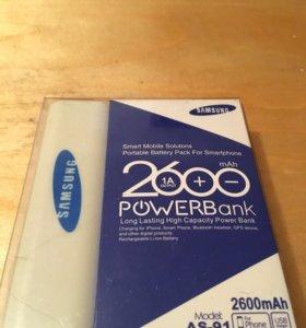 Аккумулятор внешний 2600