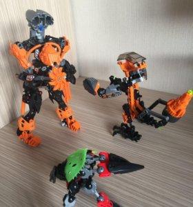 LEGO 7 роботов, 5 человечков , 1 машина 🤖