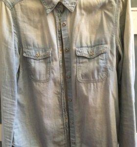 Рубашка джинсовая h&m