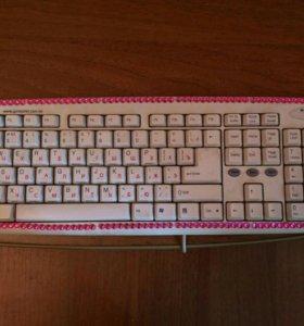 Монитор, клавиатура и буфер