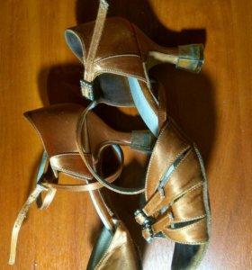 Туфли Латина спортивные танцы