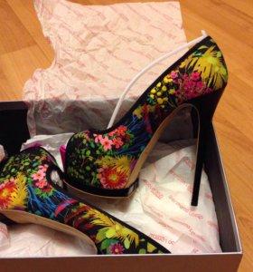Новые итальянские туфли Gianmarco Lorenzi