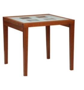 Стол обеденный со стеклом (раздвижной)