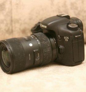 Sigma af 18-35mm ART f/1.8 canon ef-s