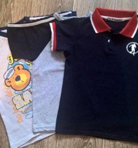 2 футболки в хорошем состоянии