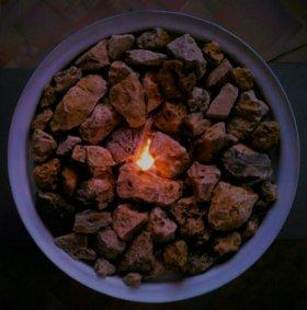 Биокамин🔥 White Bio Fireplace 🔥