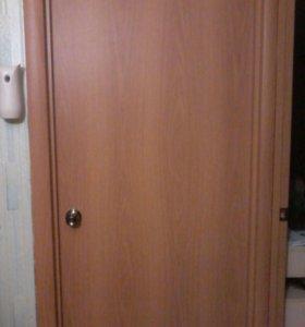 Ламинированные двери с дверной каробкой за (2шт.)