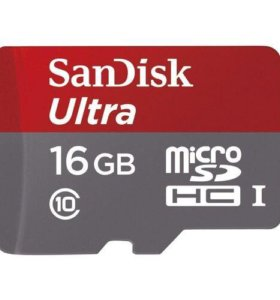 SanDisk Ultra Android microSDHC 10C A1 16GB
