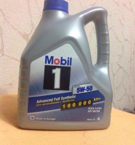 Mobil 1 FS X1 5w-50 4литра синтетическое масло