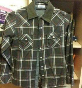 Фирменные школьные рубашки на 140-146 см