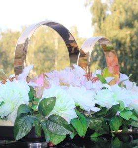 Кольца для украшения свадебных автомобилей