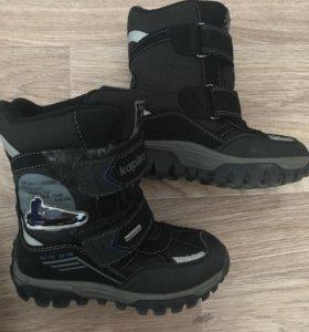 Зимние ботинки Капика